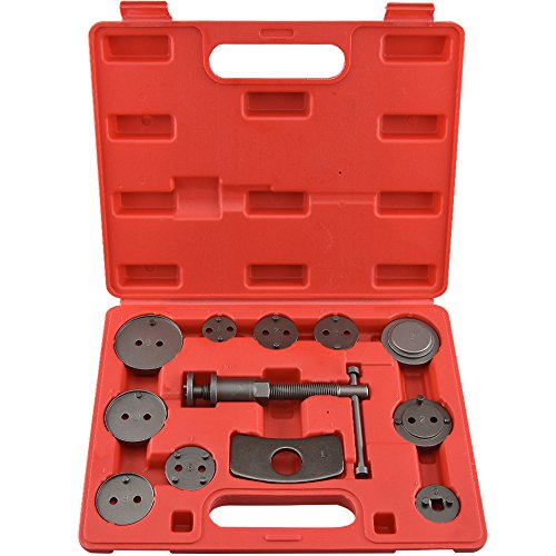 Neiko® 20733A Disc Brake Caliper Wind Back Tool Kit | 12-Piece Set (Rear Disc Brake Caliper Tool compare prices)