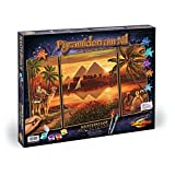 """Schipper 9260442 - Malen nach Zahlen - Pyramiden am Nil, 50x80 cmvon """"Noris Spiele"""""""