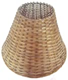 "10"" Round Cane Lamp Shade for Table Lamp"