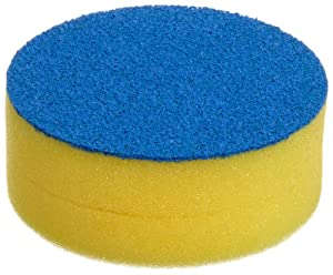 "Bel-Art Scienceware 170780000 Cleanware Glassware Scrubbing Sponge, 3-7/8"" Diameter x 1-1/2"" Height"