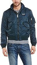 Schott NYC Men's CWU Bomber Varsity Long Sleeve Jacket