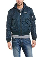 Schott NYC Cwu Bomber - Blouson - Teddy - Manches Longues - Homme