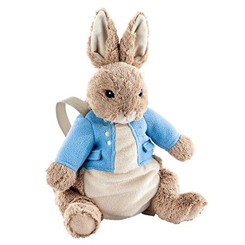 Beatrix Potter–Conejito Peter de peluche con mochila