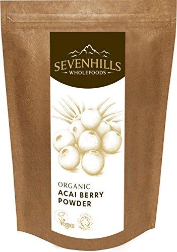 Sevenhills Wholefoods Acai-Beeren-Pulver Bio 50g