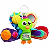 Lamaze Play & Grow Jacques the Peacock Take Along Toy Kids, Infant, Child, Baby Products