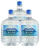 バナジウム含有Mt.FujiSprings富士忍野 PETボトルミネラルウォーター8L×3本 (標準ウォーターサーバーで使える容器/1Wayタイプ)