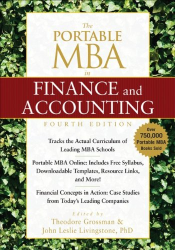 The Portable MBA in Finance and Accounting image