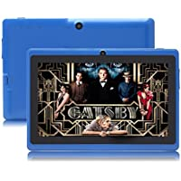 JYJ 7 Inch Android Google Tablet PC 4.2.2 8GB 512MB DDR3 A23 Dual Core Camera Capacitive Screen 1.5GHz 3G WIFI Blue