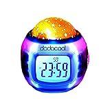 iimono117 プラネタリウム デジタル目覚まし時計 / プラネタリウム時計 目覚まし時計 時計 置時計 置き時計 とけい プラネタリウム 光 投影 星空 投影 夜空 ホームパーティ ホームシアター