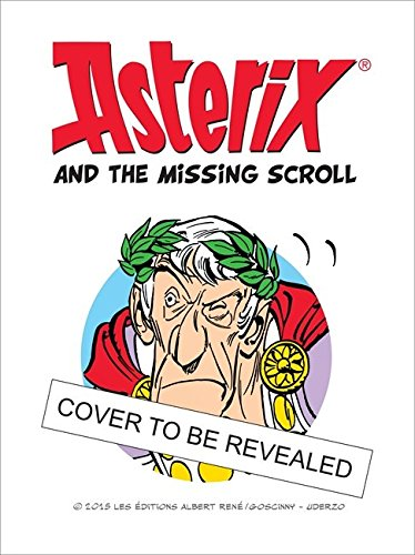 Asterix and the Missing Scroll (Album 36)