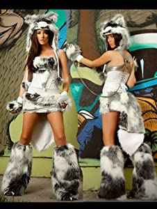 The Husky Complete Sexy Costume - SMALL