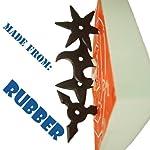 Foam Board for Ninja Rubber Throwing Stars (Stars Sold Separately !!!) from Samurai market