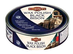 Liberon BBPWY500 Wax Polish Black Bison Yew 500ML