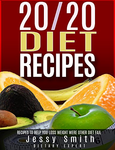 20/20 Diet Recipes: Recipes To help You Lose Weight Where Other Diets Fail by Jessy Smith