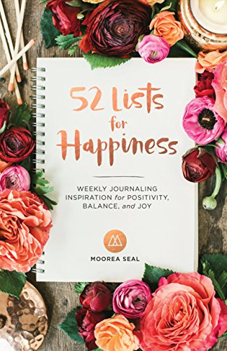 52 Lists for Happiness: Weekly Journaling Inspiration for Positivity, Balance, and Joy (Happiness And Positivity compare prices)