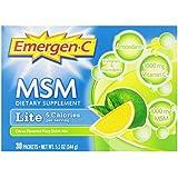 Emergen-C Lite MSM, Citrus, 30 Count