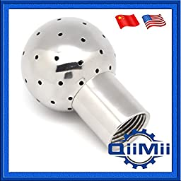 Stainless Steel Fixed Cleaning Ball SS304 Female Tank Cleaning Head (1/2\