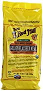 One 1 lb Bob's Red Mill Organic Gluten-Free Whole Ground Golden Flaxseed Meal