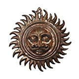 Divya Mantra Surya Vastu Wall Hanging In Copper Finish