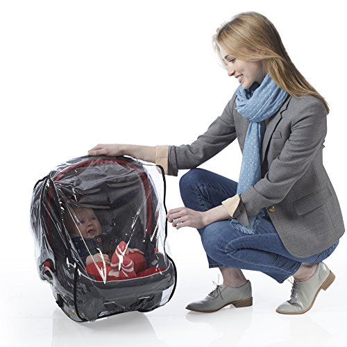 J is for Jeep Infant Carrier Weather Shield Car Seat Jogging Stroller Dry Baby Rain Protection