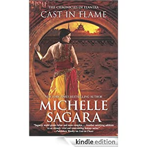 Cast in Flame (The Chronicles of Elantra) by Michelle Sagara