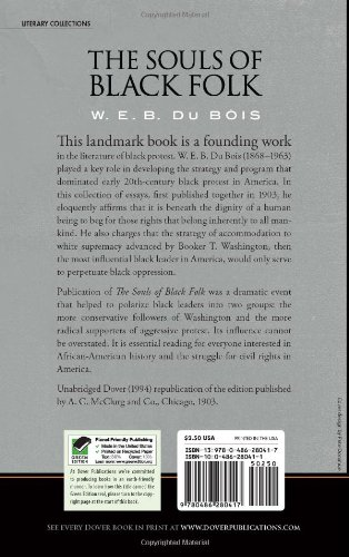 the souls of black folk historical approach essay Written by web dubois is a collection of autobiographical and historical essays work the souls of black folk, web dubois had approach to solving the.
