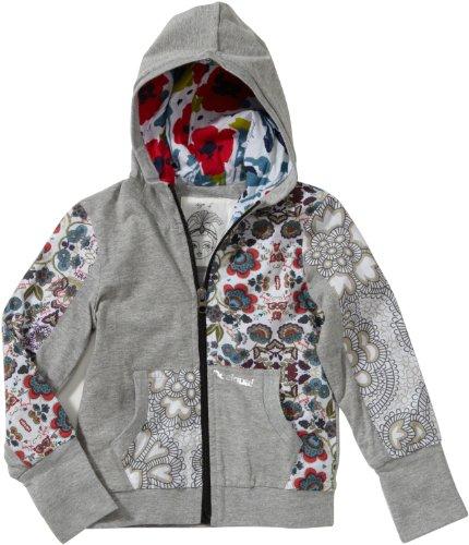 Desigual Mädchen Sweatshirt Regular Fit 21S3165, Gr. 110/116 (5/6), Grau (GRIS VIGORE 2009)