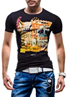 BOLF - T-Shirt à manches courtes - GLO STORY 5390 - Homme