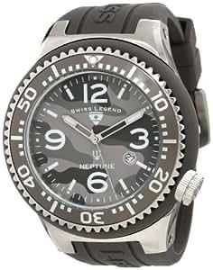Swiss Legend Men's 11852C-014 Neptune Grey Camouflage Dial Watch