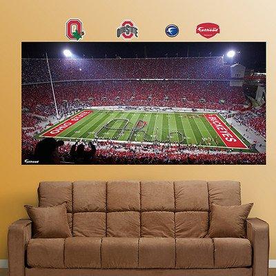 "Ncaa Ohio State Buckeyes ""Ohio"" Stadium Wall Graphic front-1077212"