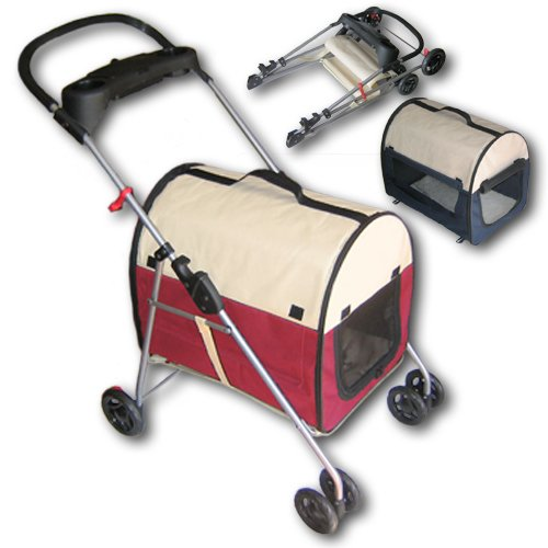 The 'Go-pet' Dusky rose dog and cat transportation system