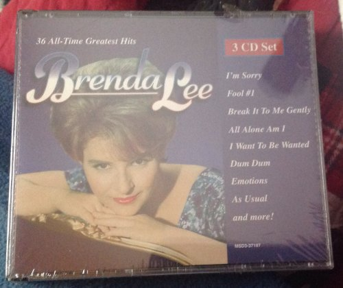 Brenda Lee - All-Time Greatest Hits - Zortam Music