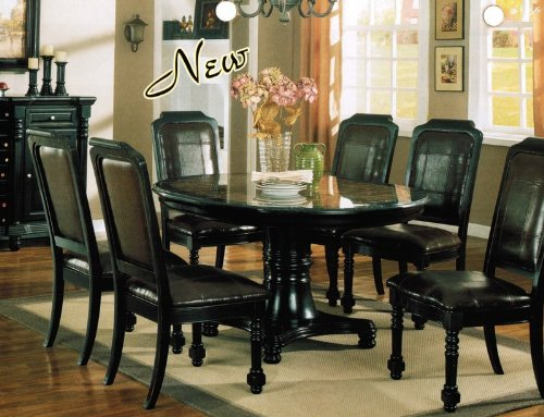 Black Formal Dining Room Sets