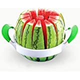 DragonPad Melon Watermelon Cantaloupe Stainless Steel Slicer with Handles Large Size 39cm*27.6cm