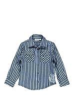 Bimbus Camisa Casual (Azul Celeste / Azul)