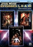 Star Wars Episodes I, II & III Instrumental Solos: Cello/ Piano Accompaniment, Level 2-3