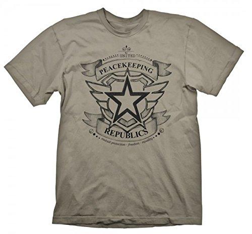 T-Shirt Battleborn - U.P. Republics [beige, XXL] [Edizione: Germania]