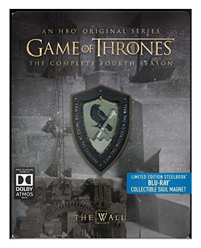 Game of Thrones - Season 4 - Limited Edition Steelbook with Collectible Magnet [Blu Ray]