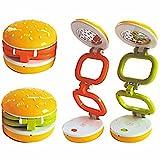 SahiBUY Hamburger Type LED Desk Lamp (Multicolor)