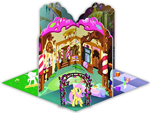 Fashion Angels My Little Pony 3D Ponyville Pop-Up Book