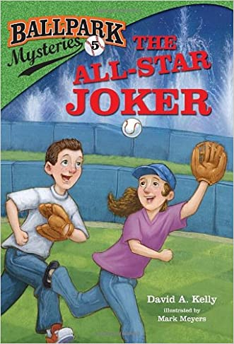 Ballpark Mysteries #5: The All-Star Joker (A Stepping Stone Book(TM))