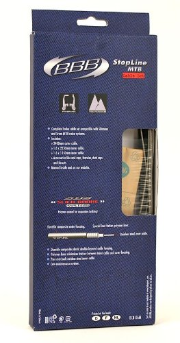 BBB StopLine Mountain Bike Cable Set - 56003011/BCB-06M