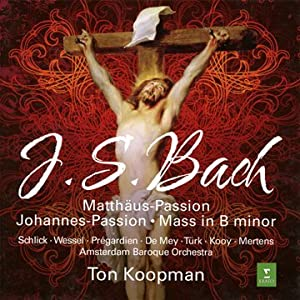 Bach : Matthaus Passion, Johannes-Passion, Mass in B minor (Coffret 7 CD)