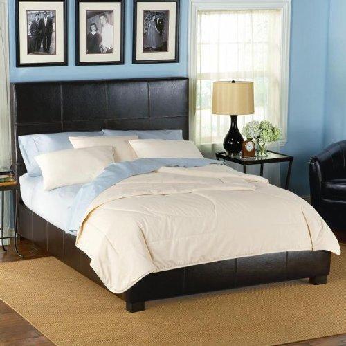 Furniture bedroom furniture platforms headboard footboard platform rails - Seagrass platform bed ...