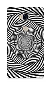 Amez designer printed 3d premium high quality back case cover for Huawei Honor 5X (illusion5)