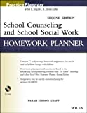 img - for by Knapp, Sarah Edison School Counseling and School Social Work Homework Planner (PracticePlanners) (2013) Paperback book / textbook / text book