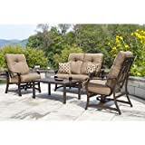 Telescope Casual Villa Cushion Deep Seating Furniture Set