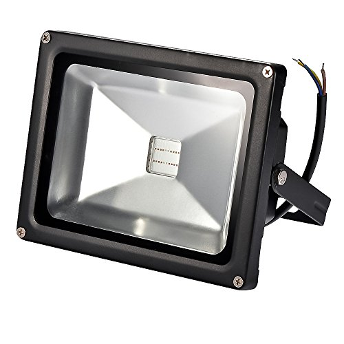 Mudder® 20 Watts Led Plant Grow Floodlight Lamp 45Mil Chip Ip65 Waterproof For Flowering Plant, Hydroponics System And Vegetables