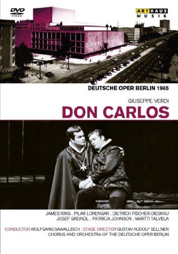 ヴェルディ:歌劇「ドン・カルロス」全曲(ドイツ語歌唱,日本語字幕) 日本語字幕[DVD]