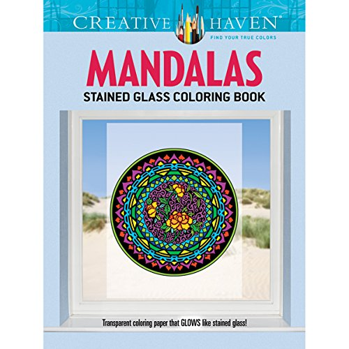 Dover Creative Haven Mandalas Coloring Book Publications - 1